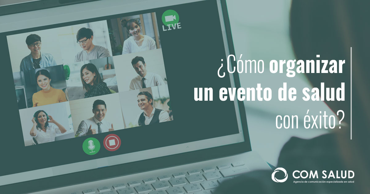 Cómo organizar un evento virtual
