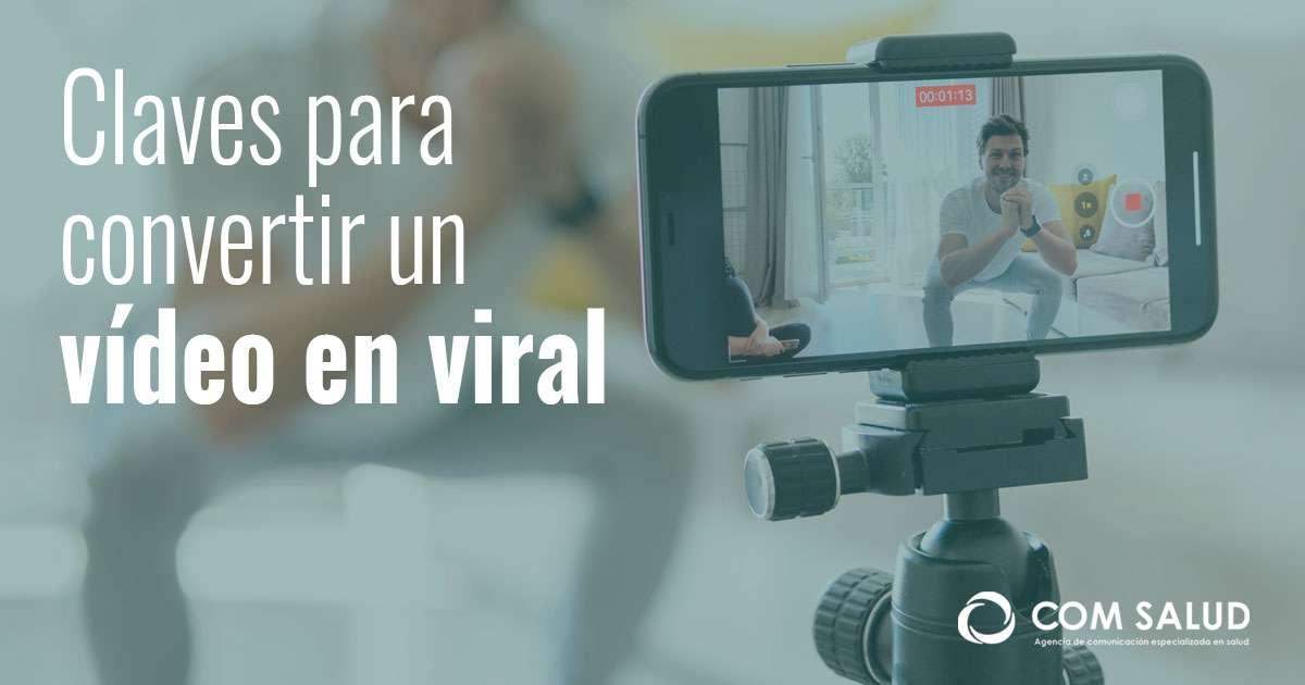 Video viral en redes sociales